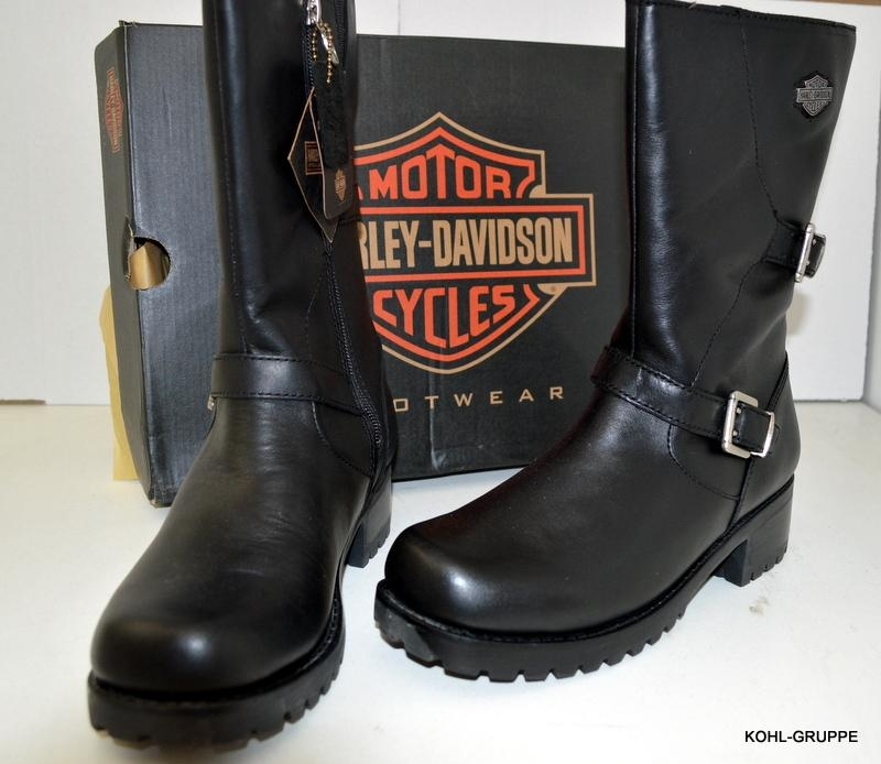 hd harley davidson damen stiefel addison gr 39 ebay. Black Bedroom Furniture Sets. Home Design Ideas