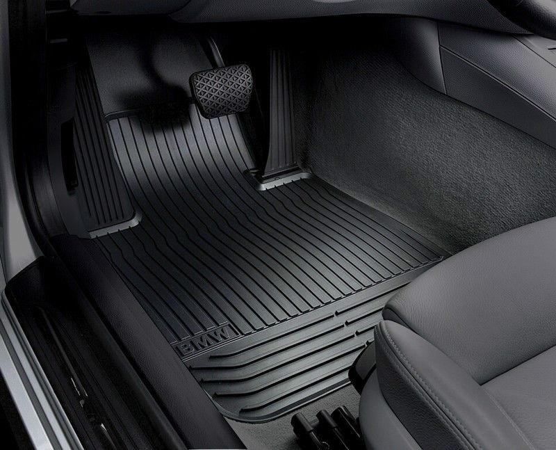 BMW Allwetter Fußmatten Gummimatten hinten 5er F10 F11 bis 08//2013