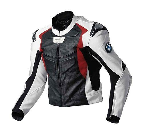 bmw motorrad herren jacke lederjacke sport 2 schwarz wei rot gr 50 ebay. Black Bedroom Furniture Sets. Home Design Ideas