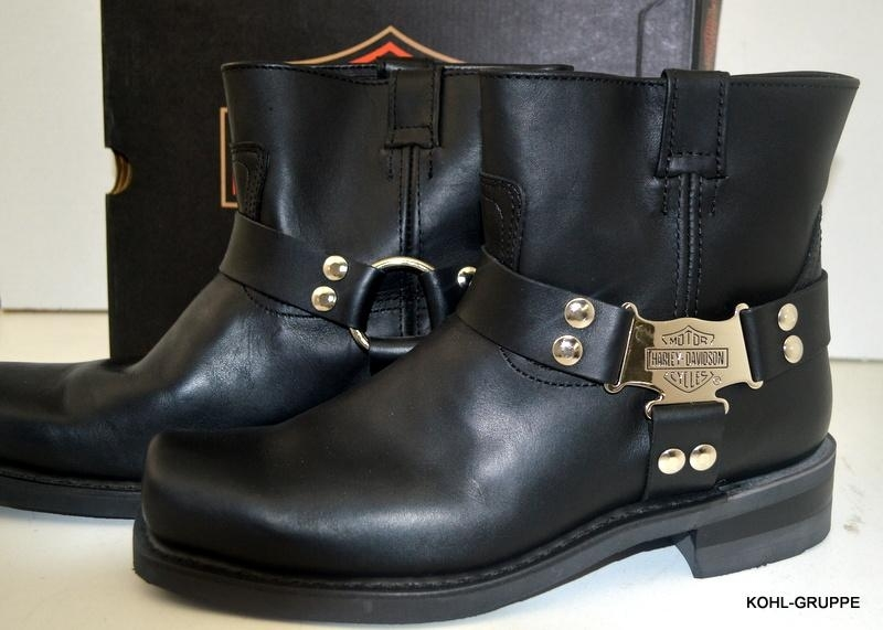 hd harley davidson herren boots stiefel iroquois gr 45 schwarz d97271 ebay. Black Bedroom Furniture Sets. Home Design Ideas