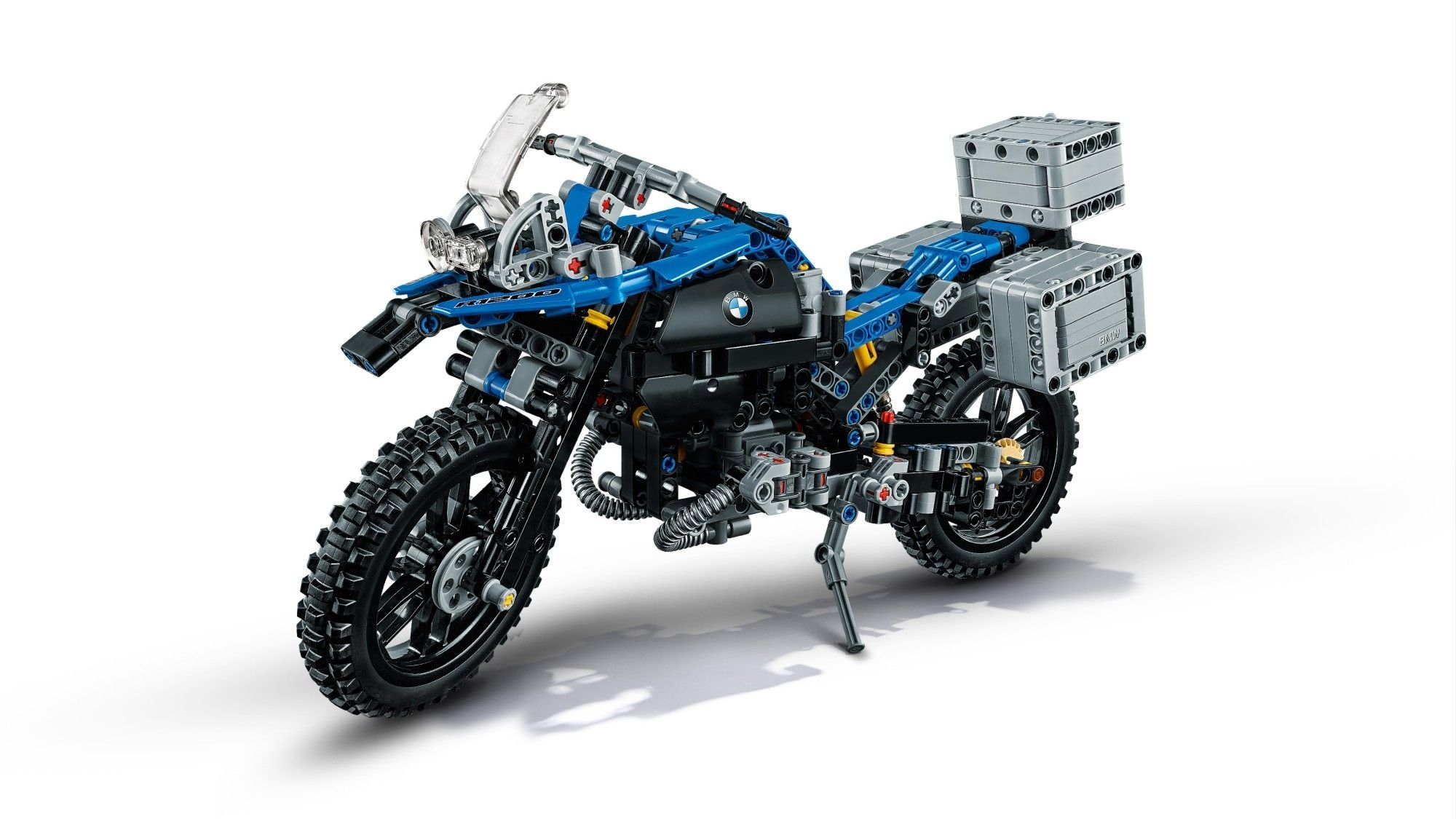 lego technic bmw r 1200 gs adventure miniatur motorrad lego 42063 ebay. Black Bedroom Furniture Sets. Home Design Ideas